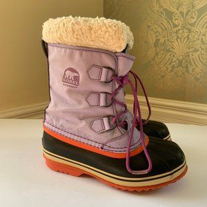 Sorel Yoot Pac Light Purple Winter Snow Boots